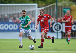 RHOSYMEDRE, WALES - Sunday, May 5, 2019: Connah's Quay Nomads' Jamie Insall during the FAW JD Welsh Cup Final between Connah's Quay Nomads FC and The New Saints FC at The Rock. (Pic by David Rawcliffe/Propaganda)
