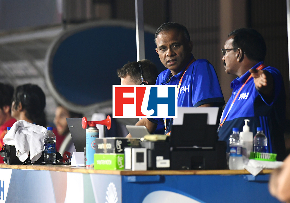 Odisha Men's Hockey World League Final Bhubaneswar 2017<br /> Match id:11<br /> Argentina v Spain<br /> Foto: FIH Official table <br /> COPYRIGHT WORLDSPORTPICS FRANK UIJLENBROEK