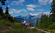 NW Washington state Cascades, North Cascade National Park, picnic, near Mt. Baker