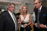 JOE WILSON; VALERIE PLAME WILSON; RICHARD GIZIK, Gala screening of COUNTDOWN TO ZERO, Bafta. Piccadilly. London. 21 June 2011. <br /> <br />  , -DO NOT ARCHIVE-© Copyright Photograph by Dafydd Jones. 248 Clapham Rd. London SW9 0PZ. Tel 0207 820 0771. www.dafjones.com.