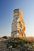 Israel, Yavne (Ibelin), the remains of the mamluk fortress at Tel Yavne