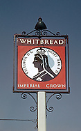Pub Signs, Imperial Crown, Penge, Kent, Britain