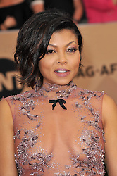 Taraji P. Henson at the 23rd Annual Screen Actors Guild Awards held at the Shrine Expo Hall in Los Angeles, USA on January 29, 2017.