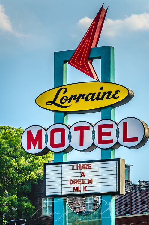 The Lorraine Motel is pictured, Sept. 7, 2015, in Memphis, Tennessee. Civil rights leader Dr. Martin Luther King, Jr., was shot and killed at the motel on April 4, 1968. The motel is now part of the National Civil Rights Museum complex. during the segregation era, the Lorraine Motel was one of the few motels that permitted black clientele. (Photo by Carmen K. Sisson/Cloudybright)