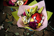 Philippines, Metro Manila. Valentine's Day in the Philippines is important not only for couples, but celebrated also by families and groups of friends. This is the day to buy toys, flowers and spend time together.
