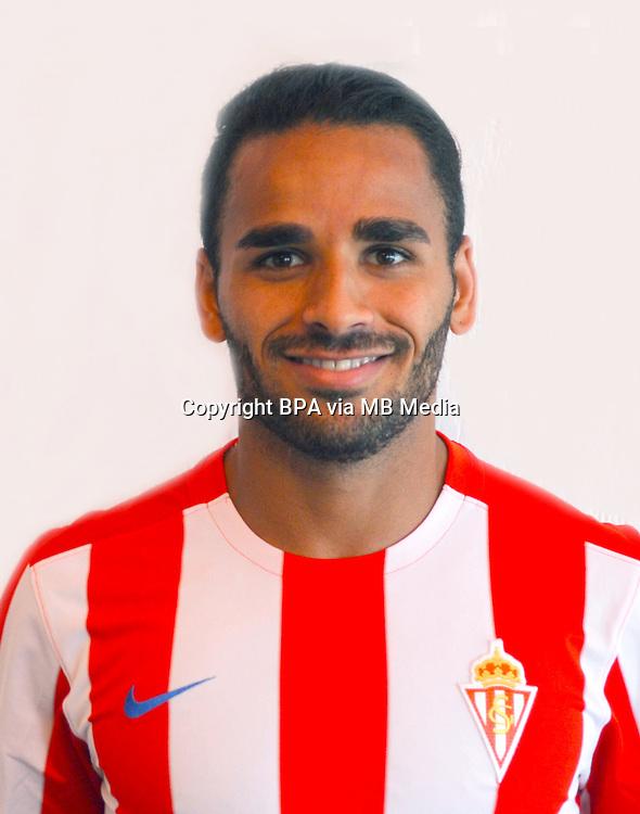 Spain - La Liga Santander 2016-2017 / <br /> ( Real Sporting de Gijon ) - <br /> Douglas Pereira dos Santos &quot; Douglas Pereira &quot;