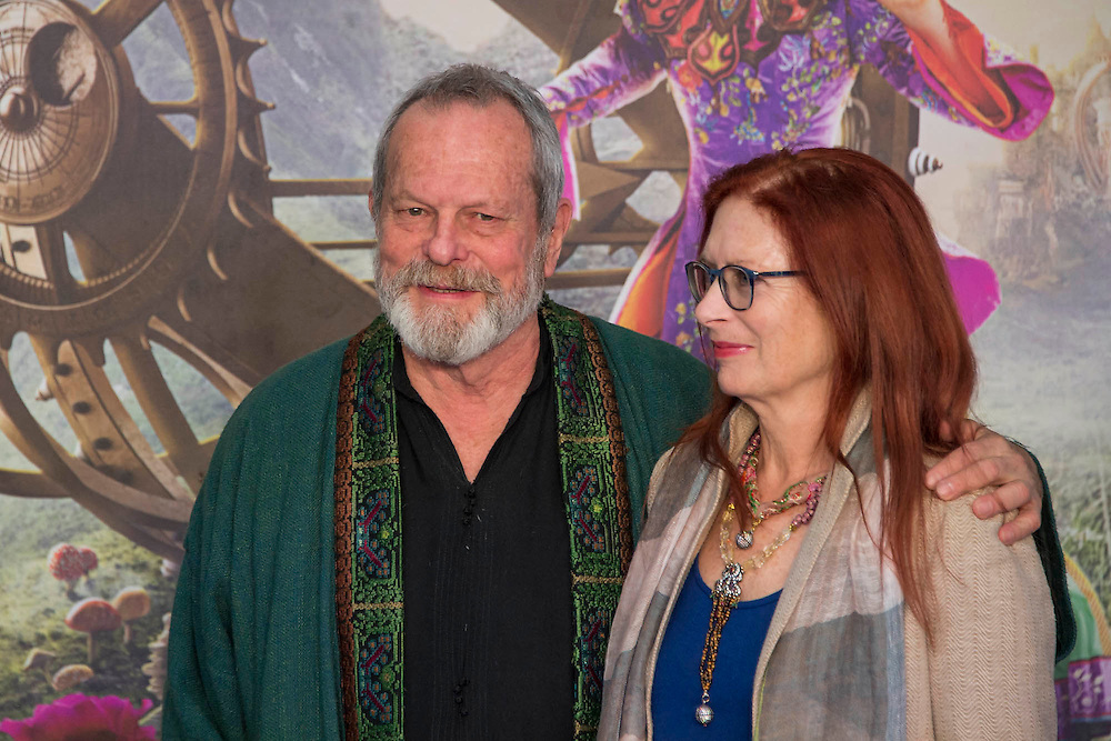 Terry Gillam and partner - Alice Through the Looking Glass premiere