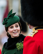 Duke & Duchess Of Cambridge - St Patrick's Day Parade
