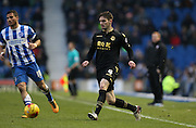 Bolton Wanderers defender, Dorian Dervite (4) plays a pass inside during the Sky Bet Championship match between Brighton and Hove Albion and Bolton Wanderers at the American Express Community Stadium, Brighton and Hove, England on 13 February 2016.