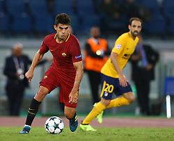 September 12, 2017 - Rome, Italy - Diego Perotti of Roma  during the UEFA Champions League Group C football match between AS Roma and Atletico Madrid on September 12, 2017 at the Olympic stadium in Rome. (Credit Image: © Matteo Ciambelli/NurPhoto via ZUMA Press)