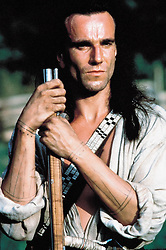 1992; The 1992 Last Of The Mohicans. Original Film Title: The 1992 Last Of The Mohicans, PICTURED: DANIEL DAY-LEWIS, Composer: Trevor Jones, Director: Michael Mann, IN CAST: Daniel Day-Lewis, Madeleine Stowe, Colm Meaney  (Credit Image: © 20TH CENTURY FOX/Entertainment Pictures/ZUMAPRESS.com)