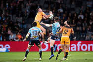 SYDNEY, AUSTRALIA - MAY 25: Jaguares player Emiliano Boffelli (15) drops the ball at week 15 of Super Rugby between NSW Waratahs and Jaguares on May 25, 2019 at Western Sydney Stadium in NSW, Australia. (Photo by Speed Media/Icon Sportswire)