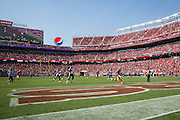 San Francisco 49ers tight end Vance McDonald (89) carries the ball down the field for a touchdown against the Houston Texans at Levi's Stadium in Santa Clara, Calif., on August 14, 2016. (Stan Olszewski/Special to S.F. Examiner)