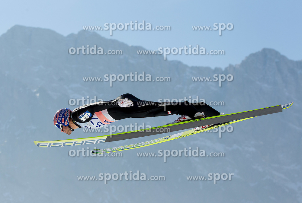 Andreas Kofler of Austria during Flying Hill Individual Qualifications at 1st day of FIS Ski Jumping World Cup Finals Planica 2012, on March 15, 2012, Planica, Slovenia. (Photo by Vid Ponikvar / Sportida.com)