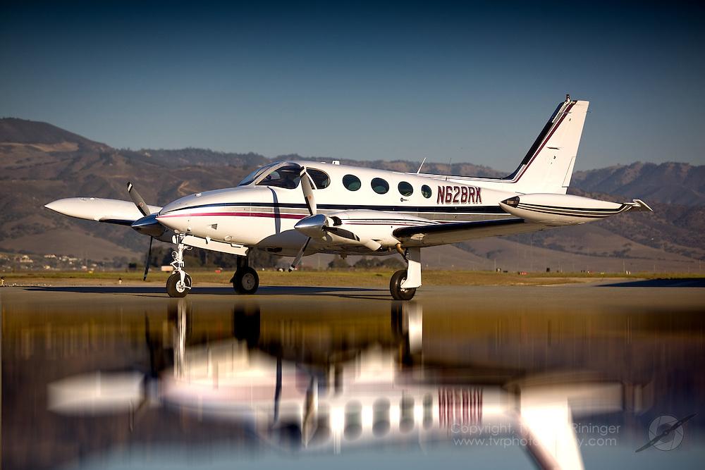 Brokerage shoot of a Cessna 340