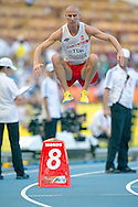 Marcin Lewandowski from Poland competes in men's 800 meters qualification during the 14th IAAF World Athletics Championships at the Luzhniki stadium in Moscow on August 10, 2013.<br /> <br /> Russian Federation, Moscow, August 10, 2013<br /> <br /> Picture also available in RAW (NEF) or TIFF format on special request.<br /> <br /> For editorial use only. Any commercial or promotional use requires permission.<br /> <br /> Mandatory credit:<br /> Photo by © Adam Nurkiewicz / Mediasport