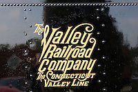 Connecticut Valley Railroad parallels the Connecticut River and runs from Essex to Deep River, CT.