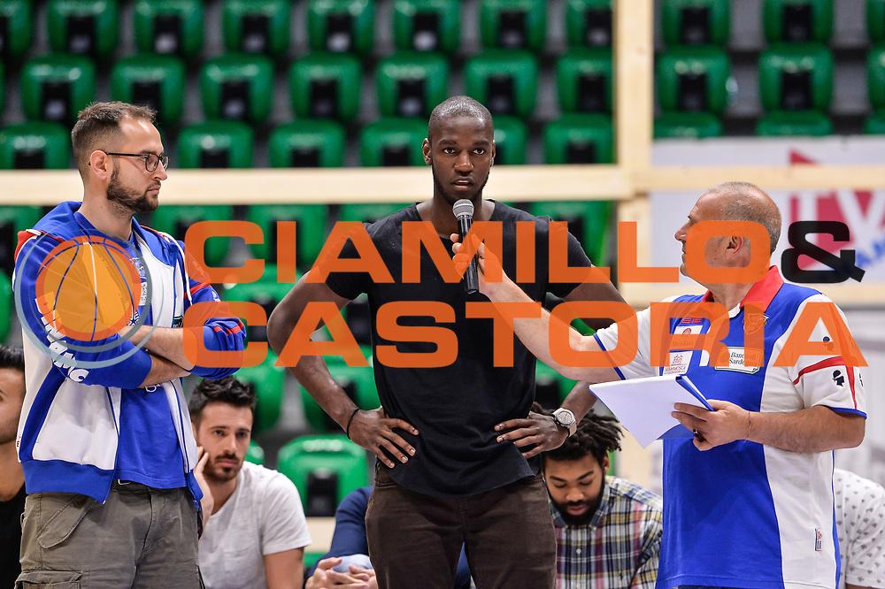Josh Carter<br /> Saluti Finali Banco di Sardegna Dinamo Sassari<br /> Legabasket Serie A LBA Poste Mobile 2016/2017<br /> Sassari 18/05/2017<br /> Foto Ciamillo-Castoria