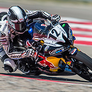 August 3, 2013 - Tooele, UT - Tomas Puerta competes in SuperSport Race 1 at Miller Motorsports Park.