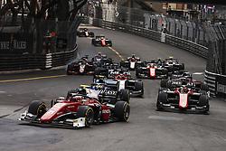 May 26, 2018 - Montecarlo, Monaco - Race start  during the Monaco Formula Two - Race 2 Grand Prix at Monaco on 26th of May, 2018 in Montecarlo, Monaco. (Credit Image: © Xavier Bonilla/NurPhoto via ZUMA Press)