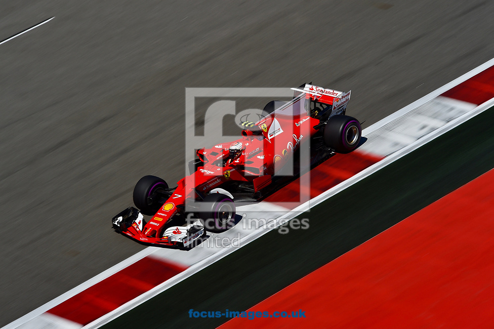Kimi Raikkonen of Scuderia Ferrari en route to coming third in the Russian Formula One Grand Prix at Sochi Autodrom, Sochi, Russia.<br /> Picture by EXPA Pictures/Focus Images Ltd 07814482222<br /> 30/04/2017<br /> *** UK &amp; IRELAND ONLY ***<br /> <br /> EXPA-EIB-170430-0273.jpg