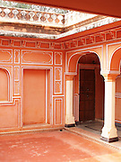 Courtyard in the Anokhi Museum of Hand Printing, Amber, Rajasthan.