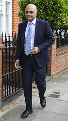 May 28, 2019 - London, London, UK - London, UK. Home Secretary Sajid Javid, who has announced that he will run to be the next leader of the Conservative Party and Prime Minister, in London. (Credit Image: © Rob Pinney/London News Pictures via ZUMA Wire)