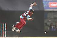 Dilhara Lokuhettige of Kandurata Maroons sends down a delivery during the Qualifier 5 match of the Karbonn Smart Champions League T20 (CLT20) between Faisalabad Wolves and the Kandurata Maroons held at the Punjab Cricket Association Stadium, Mohali on the 20th September 2013<br /> <br /> Photo by Shaun Roy/CLT20/SPORTZPICS<br /> <br /> <br /> Use of this image is subject to the terms and conditions as outlined by the CLT20. These terms can be found by following this link:<br /> <br /> http://sportzpics.photoshelter.com/image/I0000NmDchxxGVv4<br /> <br /> ENTER YOUR EMAIL ADDRESS TO DOWNLOAD