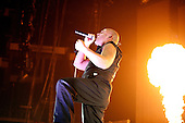Disturbed at UPROAR Festival in Columbus, OH on August 24, 2010