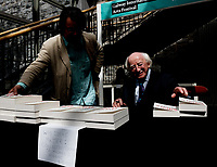 21/07/2018 repro free: President Michael D. Higgins  at the First Thought Talks strand at Galway International Arts Festival on Saturday July 21 in the Bailey Allen Hall in NUI Galway. The President launched this year&rsquo;s talks series with a reflection on the theme of home, which is the main theme of the talks. <br /> Afterwards he signed copies of his book.<br /> The First Thought Talks programme at GIAF features a series of interviews, conversations and debate which will examine the theme of home, curated by historian and archivist Catriona Crowe. First Thought Talks 2018 features 18 talks from academics, activists, architects, reporters, poets and writers with 43 participants including President Michael D. Higgins, Catherine Corless, Andrew O&rsquo;Hagan, John Lanchester, Sarah Hickson, Liz Fekete, Roy Foster, Tomi Reichental, Mitchell Joachim, Paula Meehan, Lucy McDiarmid and Diarmuid Ferriter amongst an extensive number of leading international voices and journalists from around the world. For more see www.giaf.ie<br /> Pictures: Andrew Downes/Xposure