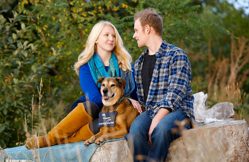 Alison and Jason engagement photo by Aspen Photo and Design