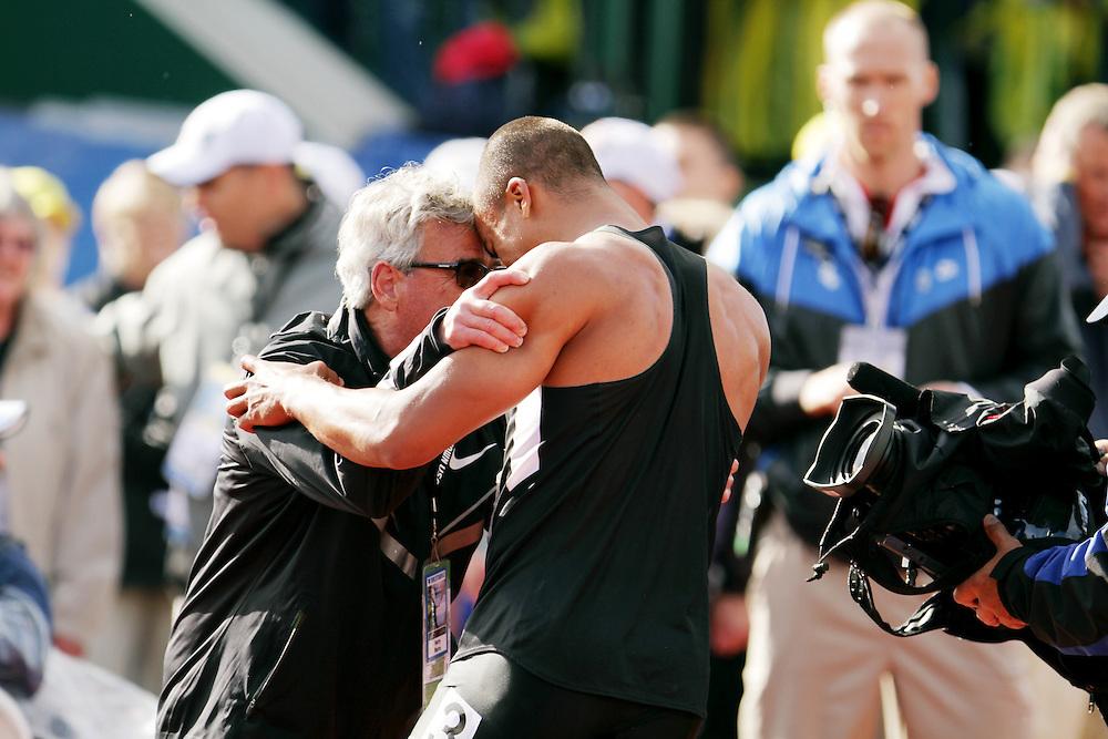 Olympic Trials Eugene 2012 Ashton Eaton breaks world record in Decathlon