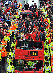 May 30 2011-Manchester United Players Parade