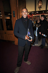 COLIN JACKSON at the opening night of Totem by Cirque du Soleil held at The Royal Albert Hall, London on 5th January 2011.