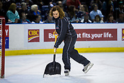 KELOWNA, CANADA - APRIL 30:  Ice Crew at the Kelowna Rockets game on April 30, 2017 at Prospera Place in Kelowna, British Columbia, Canada.  (Photo By Cindy Rogers/Nyasa Photography,  *** Local Caption ***