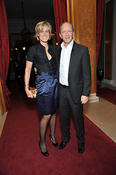 SIMON & SANTA SEBAG-MONTEFIORE at a party to celebrate 300 years of Tatler magazine held at Lancaster House, London on 14th October 2009.