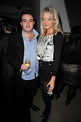 LADY ELOISE ANSON and MR LOUIS WAYMOUTH at a party to launch pop-up store Oxygen Boutique, 33 Duke of York Square, London SW3 on 8th February 2011.