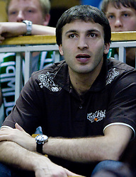 Manucar Markoisvili at third finals basketball match of Slovenian Men UPC League between KK Union Olimpija and KK Helios Domzale, on June 2, 2009, in Arena Tivoli, Ljubljana, Slovenia. Union Olimpija won 69:58 and became Slovenian National Champion for the season 2008/2009. (Photo by Vid Ponikvar / Sportida)