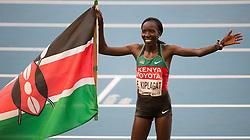 10-08-2013 ATLETIEK:  IAAF WORLD CHAMPIONSHIPS: MOSKOU<br /> EDNA KIPLAGAT<br /> ***NETHERLANDS ONLY***<br /> ©2012-FotoHoogendoorn.nl