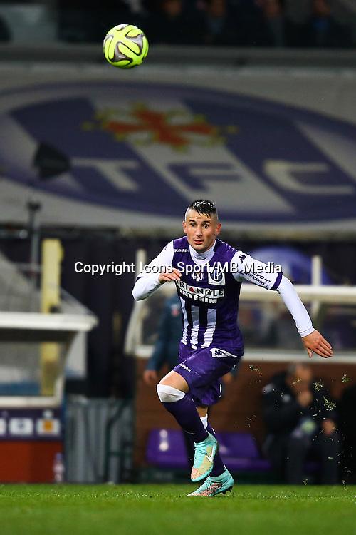 Dragos Grigore - 05.12.2014 - Toulouse / Monaco - 17eme journee de Ligue 1 -<br />Photo : Manuel Blondeau / Icon Sport
