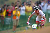 Women's Cross-country - Gunn-Rita DAHLE FLESJAA (NOR) during the Olympic Games RIO 2016, Cycling Mountain Bike, on August 20, 2016, in Rio, Brazil - Photo Tim de Waele / KMSP / DPPI