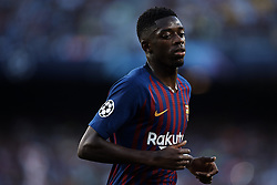 September 18, 2018 - Barcelona, Barcelona, Spain - Ousmane Dembele of FC Barcelona looks on during the UEFA Champions League group B match between FC Barcelona and PSV Eindhoven at Camp Nou on September 18, 2018 in Barcelona, Spain  (Credit Image: © David Aliaga/NurPhoto/ZUMA Press)