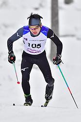 IWAMOTO Keigo, JPN, LW3 at the 2018 ParaNordic World Cup Vuokatti in Finland