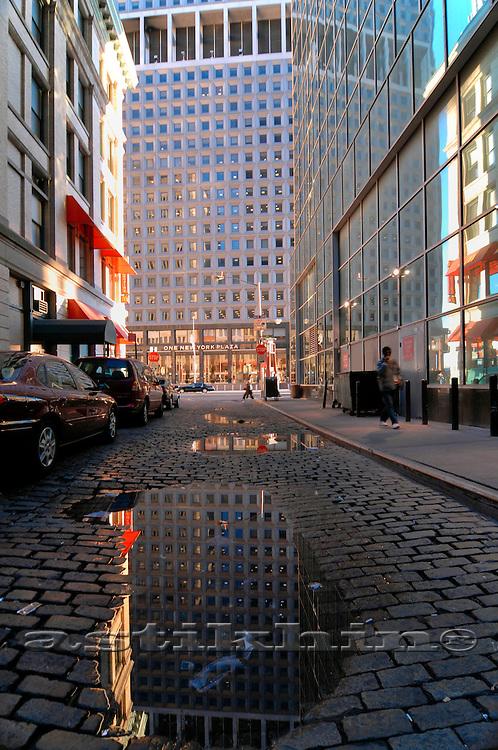 Reflection in Manhattan