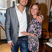 NLD/Amsterdam/20130327 - Inloop Schaatsgala 2012, Hein Otterspeer en partner Bettelien van der Ploeg