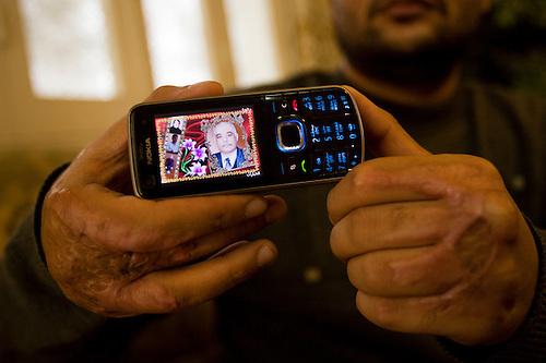 Cellular phones in gaza strip are mistaken