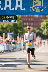 Boston Athletic Association 10K road race: Justin McLean
