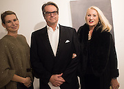 SERENA MORTON; BOB CROZIER; GILLIAN GORDON, Behind the Silence. private view  an exhibition of work by Paul Benney and Simon Edmondson. Serena Morton's Gallery, Ladbroke Grove, W10.  4 November 2015.