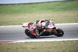 July 7, 2018 - Misano, Italy, Italy - 81 Jordi Torres ESP MV Agusta 1000 F4 MV Agusta Reparto Corse during the Motul FIM Superbike Championship - Italian Round Superpole race during the World Superbikes - Circuit PIRELLI Riviera di Rimini Round, 6 - 8 July 2018 on Misano, Italy. (Credit Image: © Fabio Averna/NurPhoto via ZUMA Press)