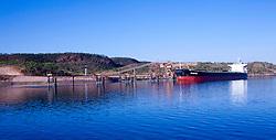 The shiploader at Koolan Island
